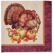 Creative Converting Lunch Napkins Thanksgiving Turkey