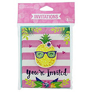 Creative Converting Pineapple N' Friends Invitations