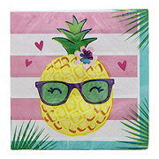 Creative Converting Pineapple N' Friends Lunch Napkin