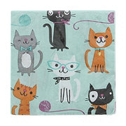 Creative Converting Purr-Fect Party Beverage Napkin