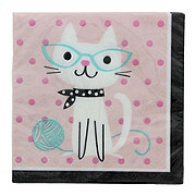 Creative Converting Purr-Fect Party Lunch Napkin