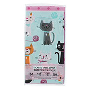 Creative Converting Purr-Fect Party Plastic Table Cover 54x102 in