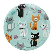 Creative Converting Purr-Fect Party Plate, 7 inch