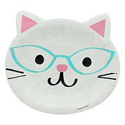 Creative Converting Purr-Fect Party Plate, 9 inch