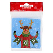 Creative Converting Sandwhich Bag Reindeer