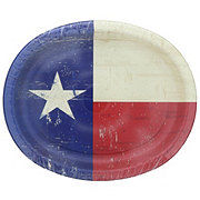Creative Converting Texas Pride Oval Platter