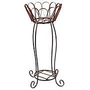 Creative Decor Basket Stand