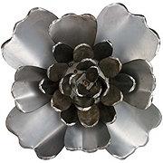 Creative Decor Large Natural Tin Flower