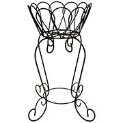 Creative Decor Sourcing Flower Petal Basket Stand