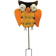 CREATIVE DECOR SOURCING Tin Owl Stake