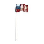 Creative Decor USA Flag Garden Stake