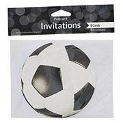 Creative Expressions Soccer Invitation Postcard