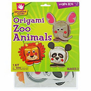 Creative Hands Origami Zoo Animals Kit