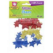 Creative Hands smART Foam Glitter Stars Stickers