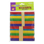 Creativity Street Craft Sticks Jumbo Bright Hues