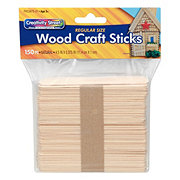Creativity Street Craft Sticks Natural 4.5 in