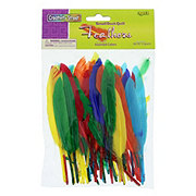Creativity Street Feathers Duck Quill Assorted