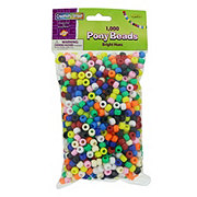 Creativity Street Pony Beads Bright Hues