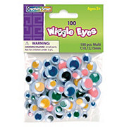 Creativity Street Wiggly Eyes Multi Color