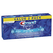 Crest 3D White Arctic Fresh Whitening Toothpaste Icy Cool Mint
