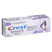 Crest 3D White Brilliance Advanced Stain Protection Toothpaste Vibrant Peppermint