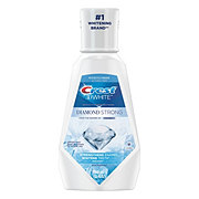 Crest 3D White Diamond Strong Alcohol Free Fluoride Clean Mint Mouthwash