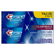 Crest 3D White Luxe Glamorous White Toothpaste Twin Pack