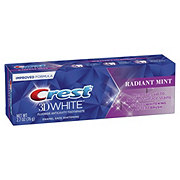 Crest 3D White Whitening Toothpaste Radiant Mint