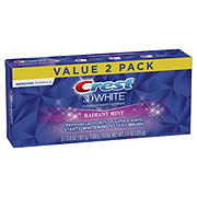 Crest 3D White Whitening Toothpaste Radiant Mint