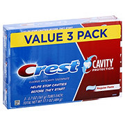 Crest Cavity Protection Regular Toothpaste