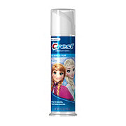 Crest Kids Disney Frozen Blue Bubble Gum Cavity Protection Toothpaste