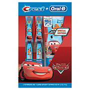 Crest Kids Holiday Pack Cars
