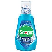 Crest Scope Outlast Long Lasting Mouthwash Peppermint