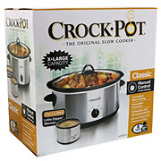 Crock Pot 8 Quart With Little Dipper Shop Cookers Roasters At H E B