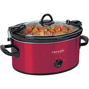 Crock-Pot Red Cook 'N' Carry Slow Cooker
