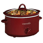 Crock-Pot Red Oval Slow Cooker