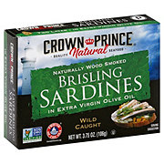 Crown Prince Natural Brisling Sardines In Pure Olive Oil