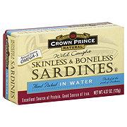 Crown Prince Skinless & Boneless Sardines in Water