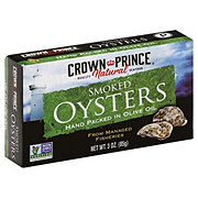 Crown Prince Smoked Oysters in Olive Oil