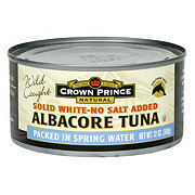 Crown Prince Solid White-No Salt Albacore Tuna