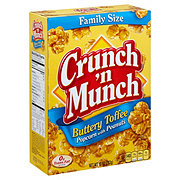 Crunch 'n Munch Buttery Toffee Popcorn With Peanuts Family Size