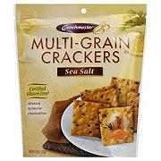 Crunchmaster Crackers, Multi-Seed, Sea Salt
