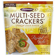 Crunchmaster Roasted Garlic Cracker