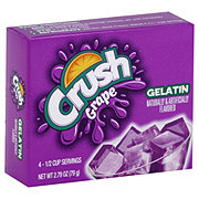 Crush Grape Gelatin Mix