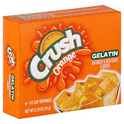 Crush Orange Gelatin Mix