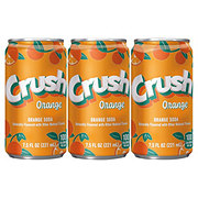 Crush Orange Soda 7.5 oz Cans
