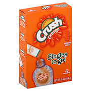 Crush Singles To Go! Orange Drink Mix