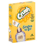 Crush Singles To Go! Pineapple Sugar Free Drink Mix