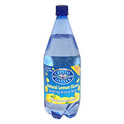 Crystal Geyser Natural Lemon Flavor Sparkling Mineral Water