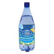 Crystal Geyser Natural Lime Flavor Sparkling Mineral Water